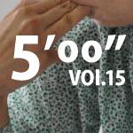 """5'00"""" vol.15"""