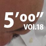 """5'00""""vol18"""